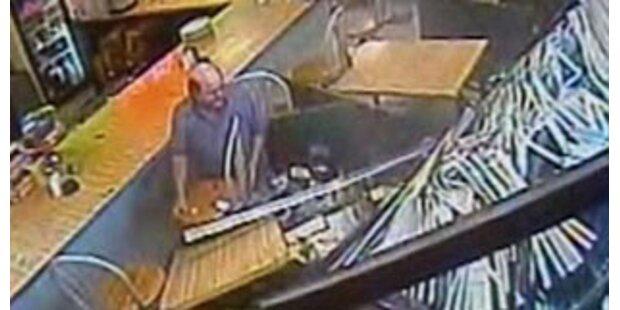 Geländewagen raste in Bar