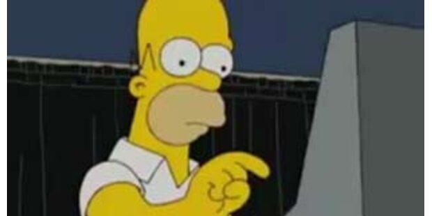 Sogar Homer Simpson würde Obama wählen