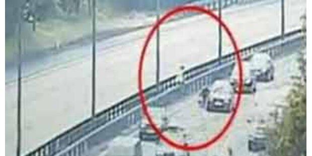 Schwedinnen drehten auf Autobahn völlig durch