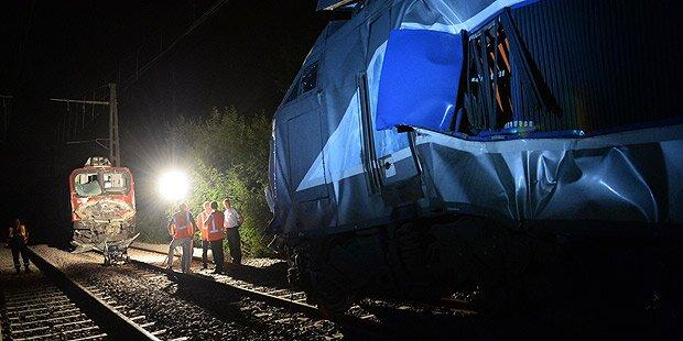 40 Verletzte bei Zug-Crash
