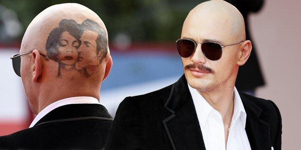 James Franco schockt mit Tattoo