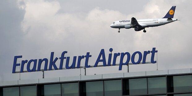 Reizgas-Attacke am Frankfurter Flughafen: Mehrere Verletzte