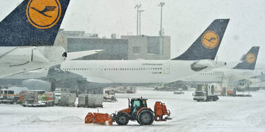 Stillstand am Frankfurt Airport