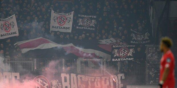 Nächster Ultras-Eklat bei Frankfurt