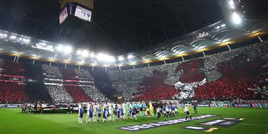 UEFA verbietet Frankfurt-Choreo
