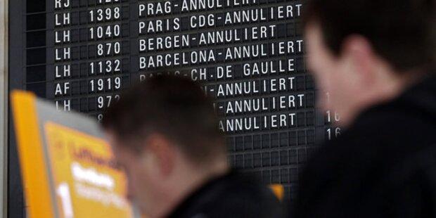 Streik: Chaos am Frankfurter Flughafen