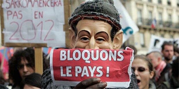 Frankreichs Parlament segnet Pensionsreform ab
