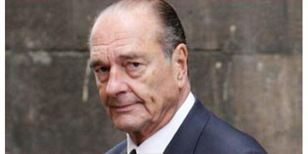Justiz ermittelt gegen Chirac wegen Unterschlagung
