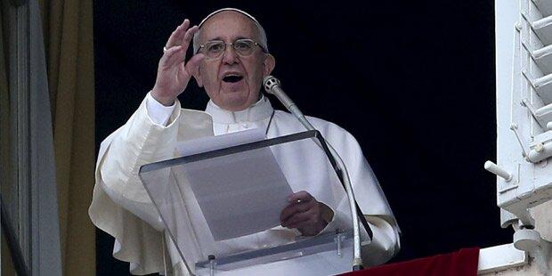 Papst verurteilt