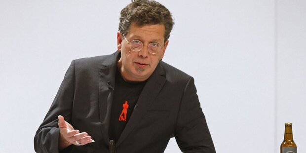 Kämpferische Franzobel-Rede zur Eröffnung