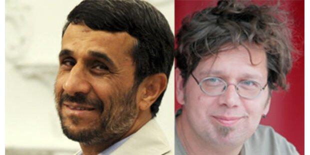 Franzobel versus Ahmadinejad