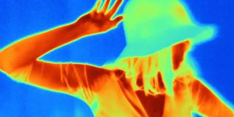 Wärmebildkamera, Frau, Alkohol, tanzen