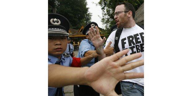 Journalist vor Olympiastadion brutal misshandelt