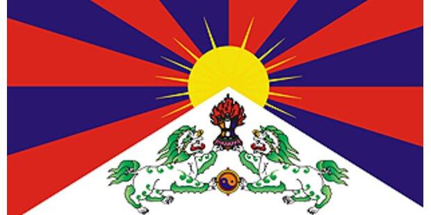 Tibet Flagge wird zum Modehighlight