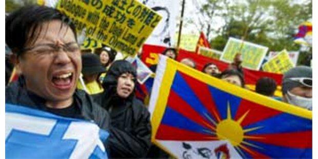 Tibet-Aktivisten fordern weiter Druck auf China