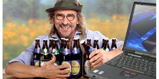 Brauerei bietet lebenslang Freibier gegen Laptop