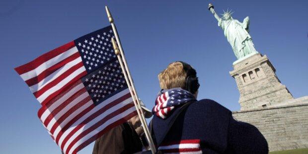 New York gratuliert Freiheitsstatue