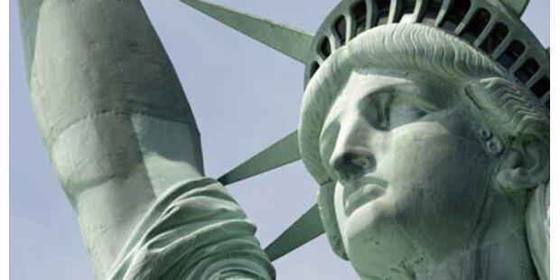 Kopf der Freiheitsstatue wird geöffnet