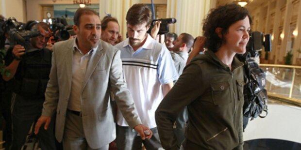 Vier Journalisten wurden freigelassen