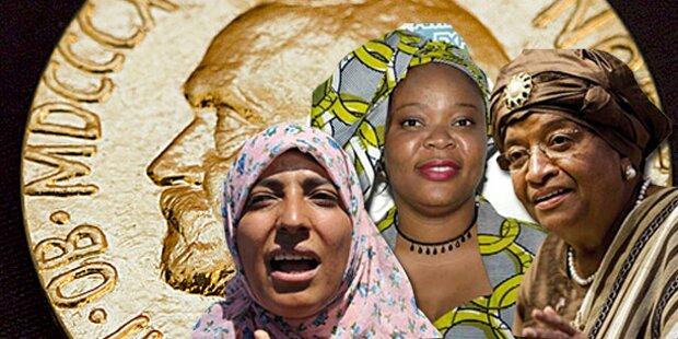 Drei Frauen für den Frieden