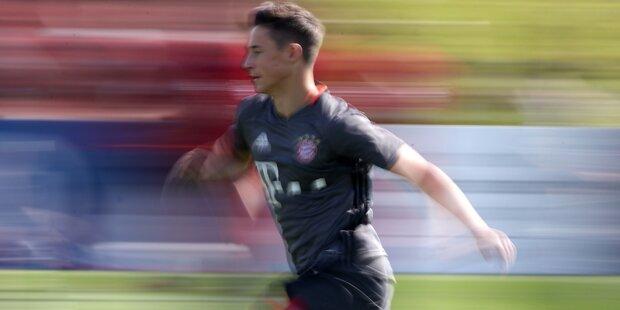 ÖFB-Juwel bekommt Profi-Vertrag beim FC Bayern