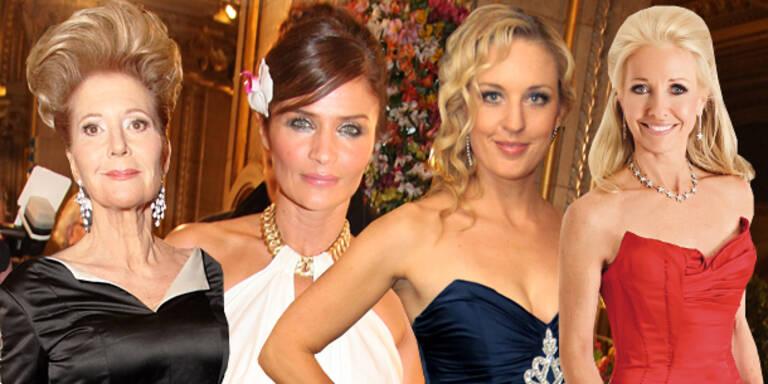 Opernball-Frisuren der Ladies