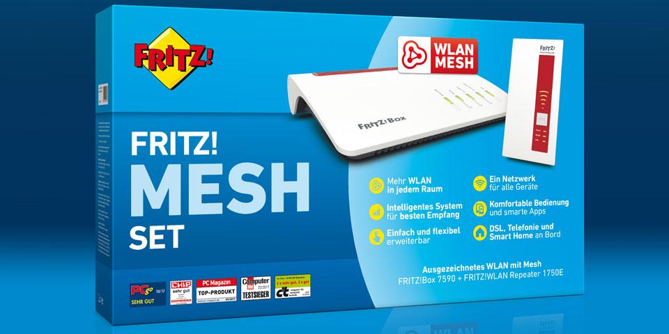 Avm Brings Wi Fi Mesh Innovation Fritz Set On The Cebit 2018 Tech2