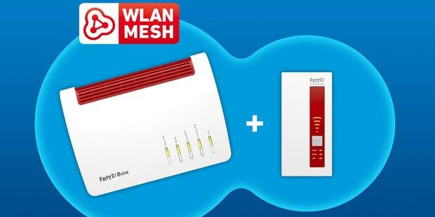 AVM bringt WLAN-Mesh-Neuheit