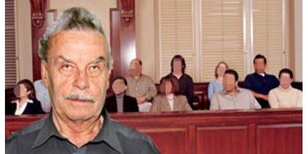 Acht Geschworene richten über Fritzl