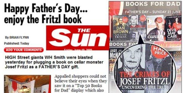 Fritzl-Bücher zum Vatertag angeboten