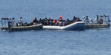 Heute mehr als 4.000 Menschen aus Mittelmeer gerettet