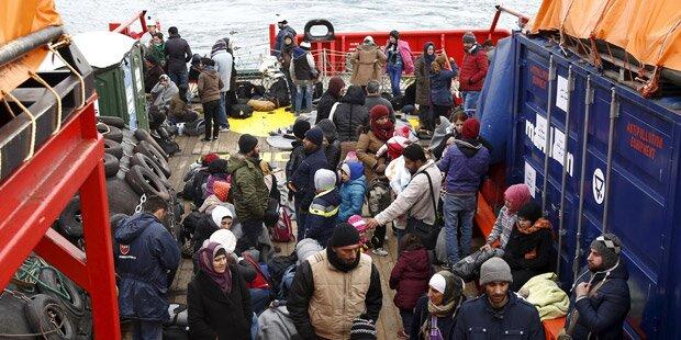 200 Menschen vor Griechenland gerettet