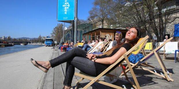 Temperatur-Rekord in Wien gefallen