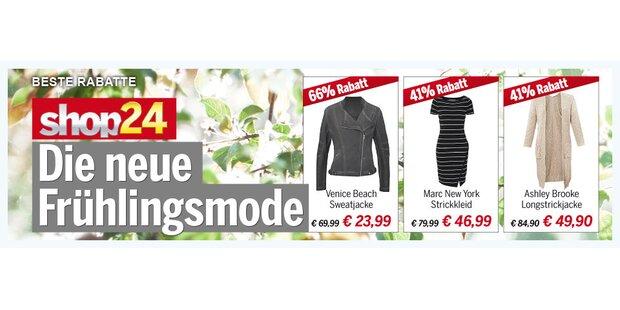 Anzeige Shop 24 Frühlingsmode