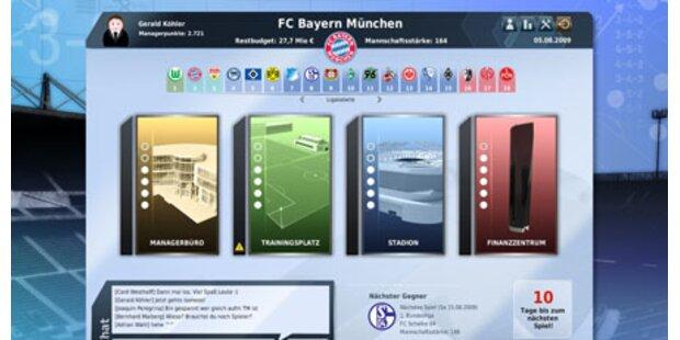 Fußball Manager 10 mit Online-Modus