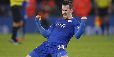 Christian Fuchs Leicester City