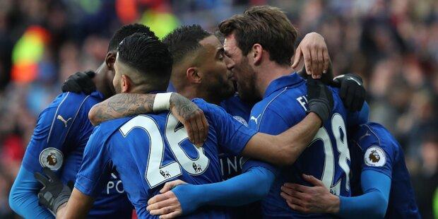 Leicester-Märchen geht weiter