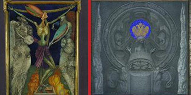Zwei Gemälde von Ernst Fuchs gestohlen