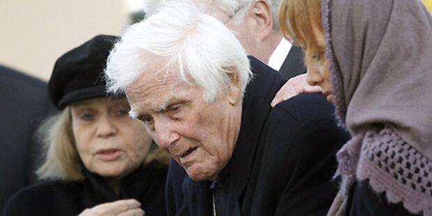 Fuchsberger nahm Abschied von Sohn
