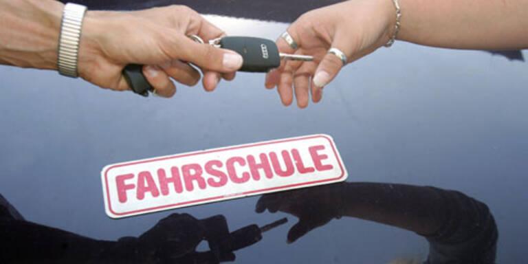 Fahrprüfungen in Österreich harmlos