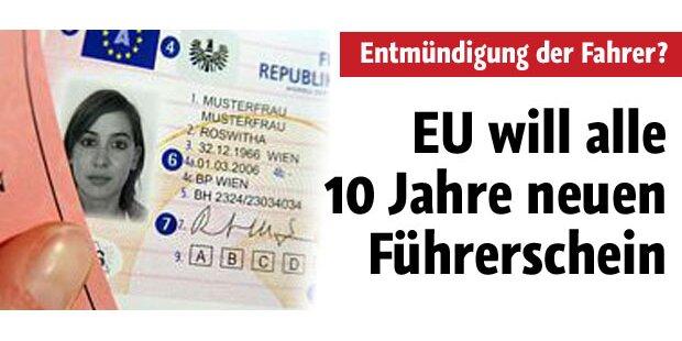 Führerschein-befristung auf 10 Jahre kommt
