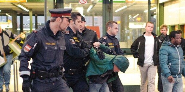 Wieder Messer- Attacke in U-Bahn