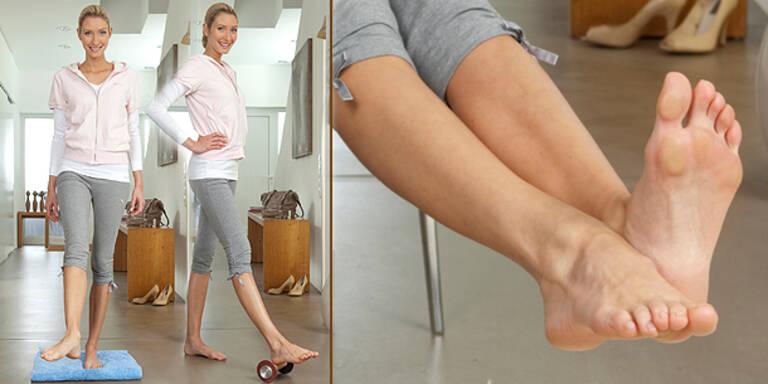 Fitness-Übungen für fleißige Füße