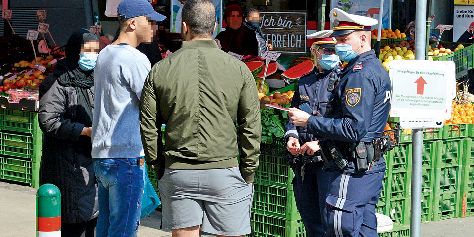 Polizei Coronavirus Strafen