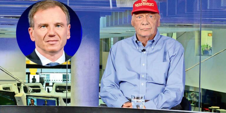 """Lauda attackiert Wolf: """"Mit dem Deppen redet man nicht!"""""""