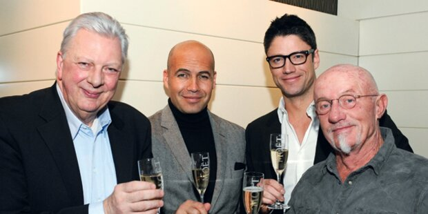 Filmball-VIPs in Wien gelandet