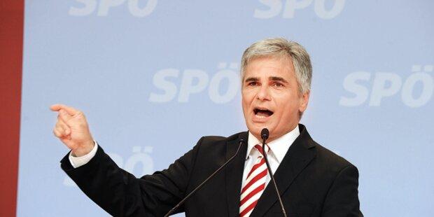 In SPÖ-Umfragen liegt Kanzler stabil voran