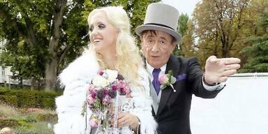 Lugner: Dauer-Streit vor 1. Hochzeitstag