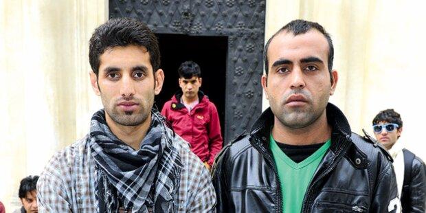 Serviten-Flüchtlinge müssen raus