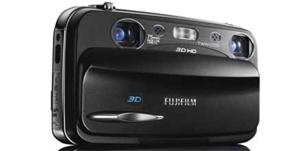 Neue 3D-Digitalkamera von Fujiflim